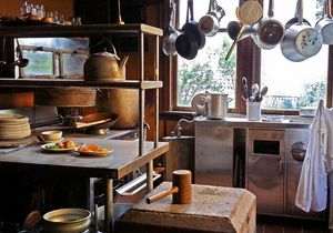 Old Kitchen - Deb Johnston