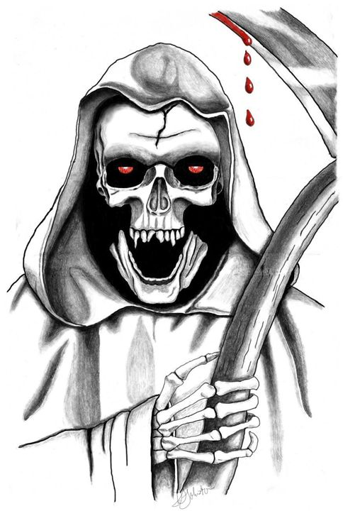 Grim Reaper - Deb Johnston