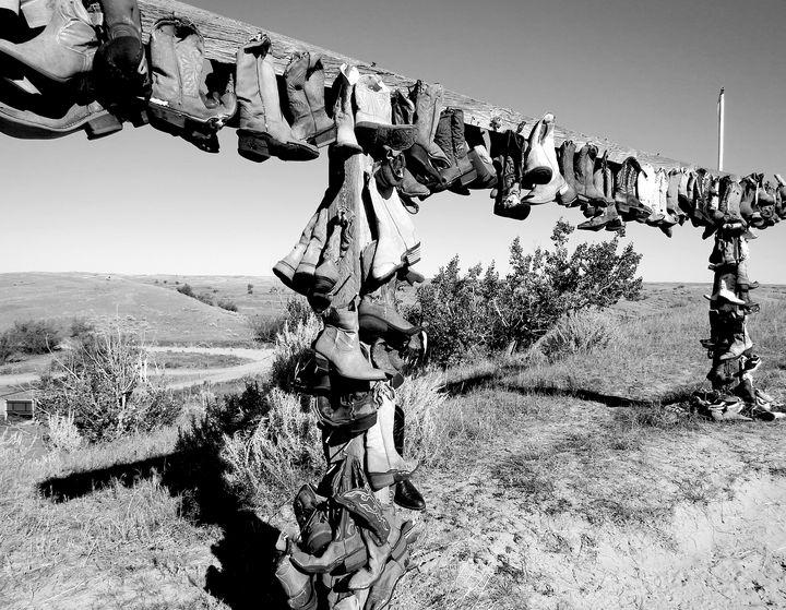 Cowboy Boot Archway - Deb Johnston