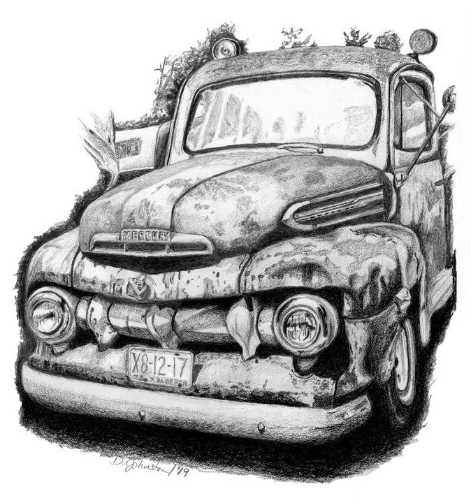 '51 Mercury Pickup Truck - Deb Johnston