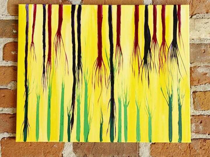 Small Abstract Three - Betsy Carr Art
