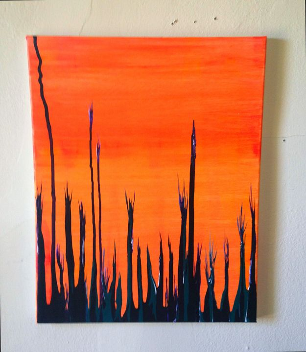Small Abstract Six - Betsy Carr Art