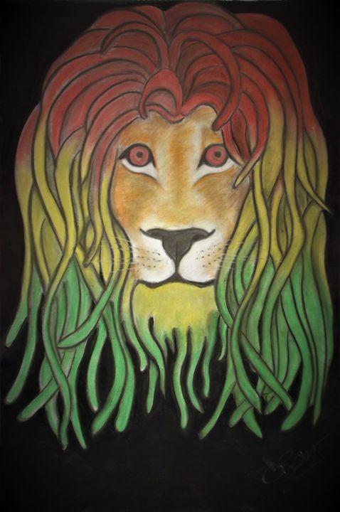 Rasta Lion - Christylou