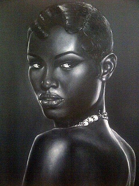 Cleo - Original Art by Rita Cherry