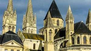 Abbey, Caen