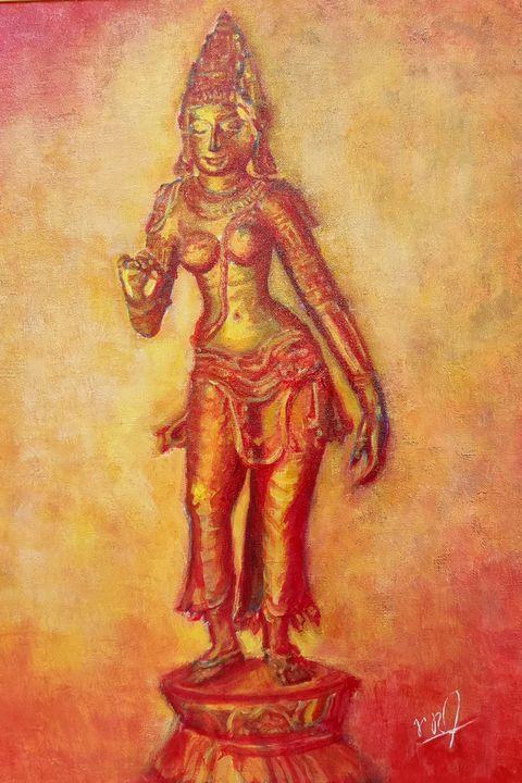 Goddess Gauri - Ramchandran Viswanathan