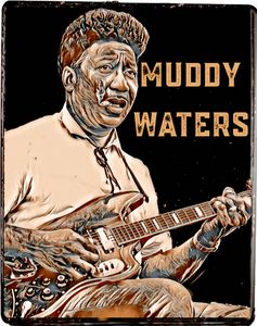 Muddy Waters with cigarette