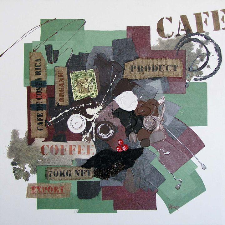 Cafe collage L1 - Kirov Art