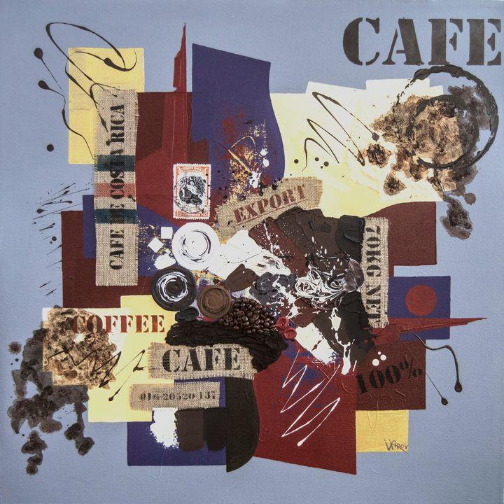 Cafe Collage - Kirov Art