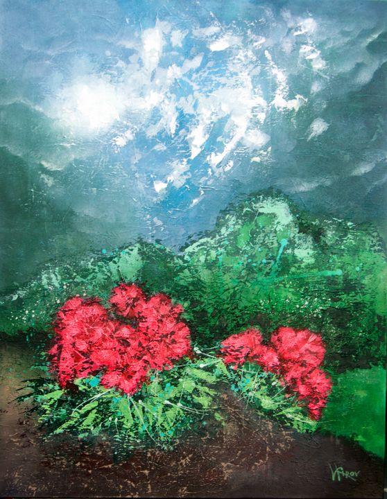 Hibiscus - Kirov Art