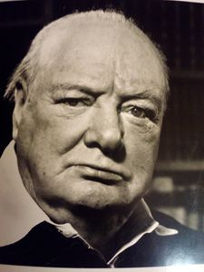 1951 original photograph of Winston