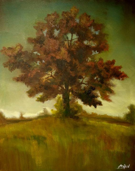 Red Autumn - Mason Howerzyl