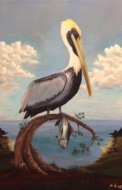 Pelican Perch - Mason Howerzyl