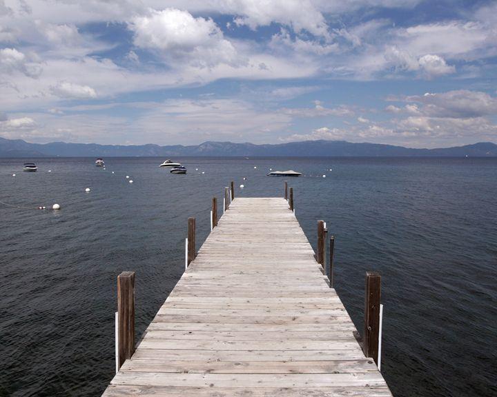 Tahoe Pier - Brandon Yuenger Landscape Photography