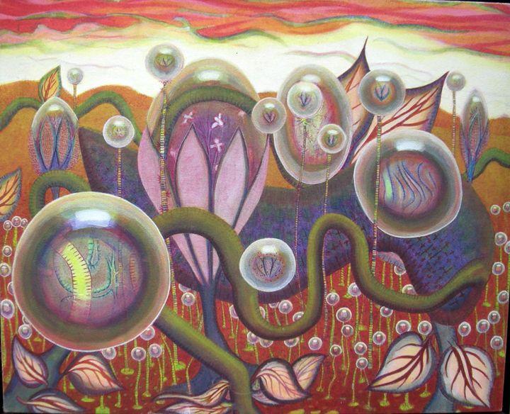 Crimson Garden - Peter J Jacobs