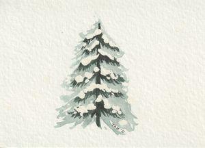 Snowy Tree III