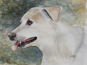 JERRY, Original Watercolor - David K. Myers Watercolor/ Photo Gallery