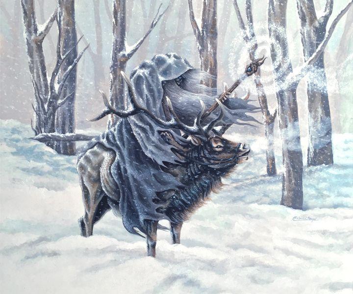 Blue Wizard - Wailing Wizard