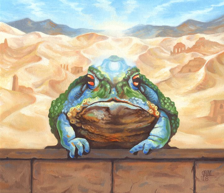 Dust Toad - Wailing Wizard