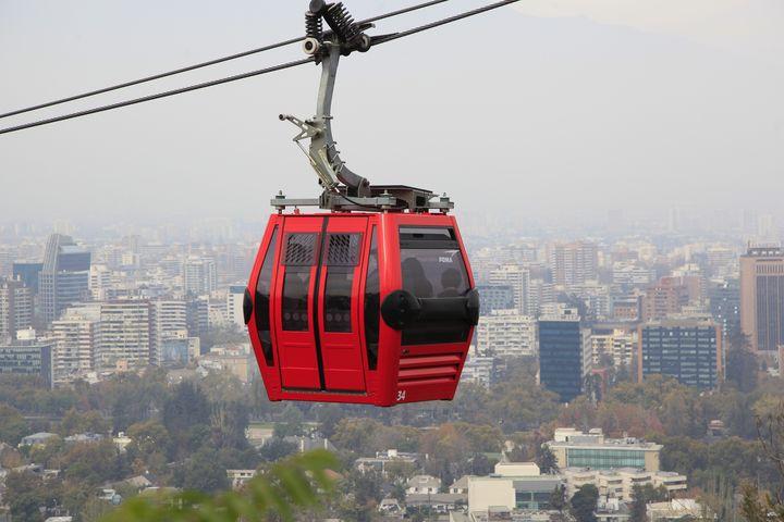 Teleférico De Santiago de Chile - Leis Antonio