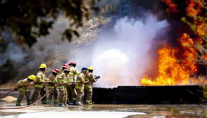 Extinción de fuego - Leis Antonio