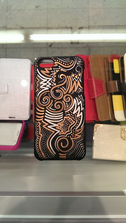 "iPhone 5 ""Dreamwaves©"" by Nomi #2 - Sharpie® On Life!"