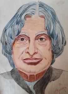 Abdul Kalam portrait!!