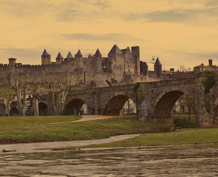 Carcassonne Pont Vieux - MaXx Art
