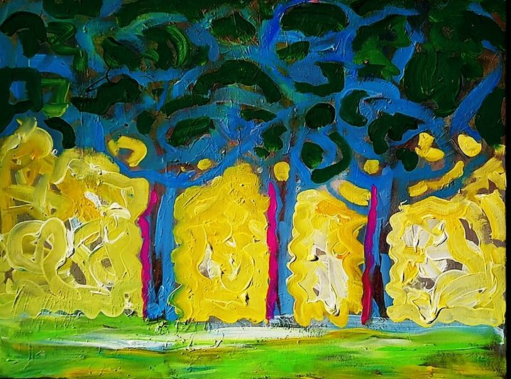 Three trees in spring - artaffairs RP