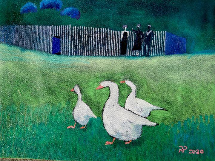 Three Geese, three People - artaffairs RP