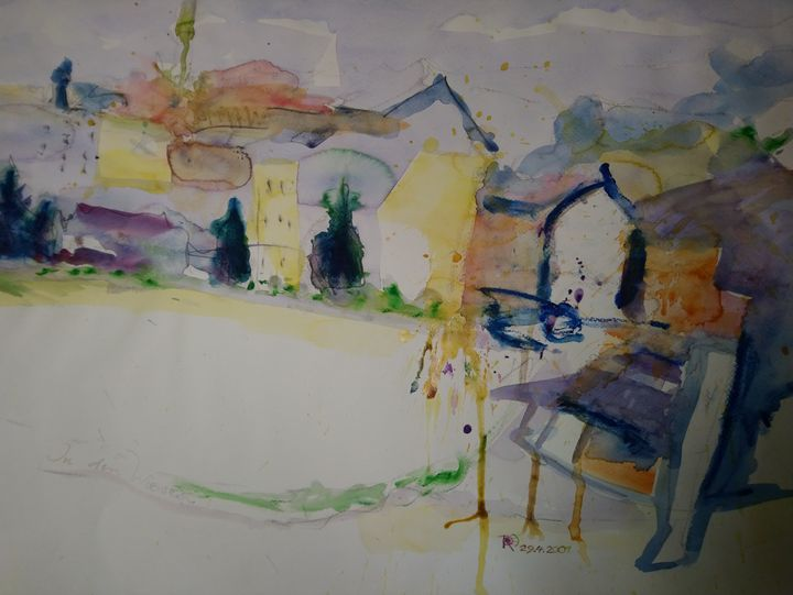 On the edge of the village - artaffairs RP