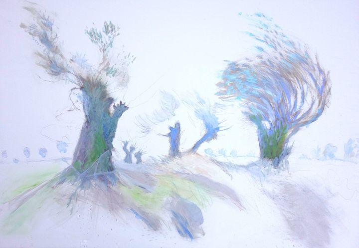 Weeping willows in Brandenburg - artaffairs RP