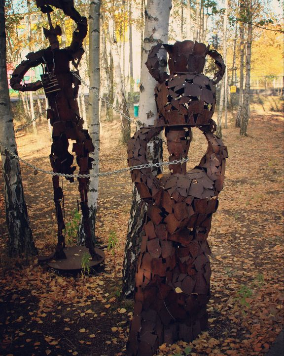 Figures in the forest - artaffairs RP