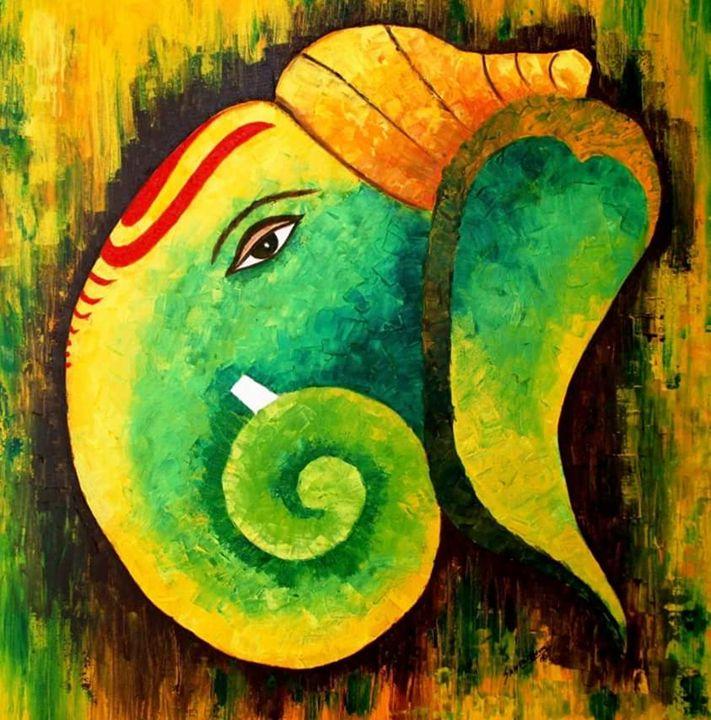 Ganesha - Rajni Art Gallery