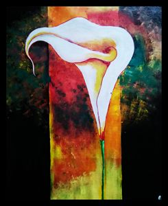 Cala Lily Abstract