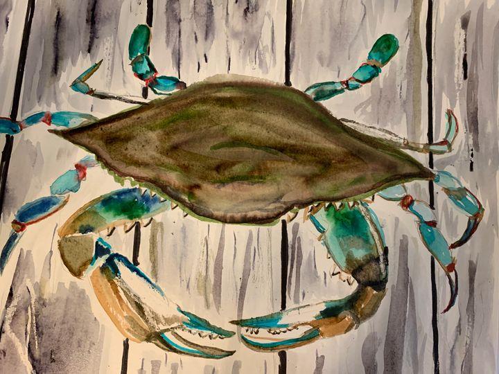 Dock Crab - MendalineJane