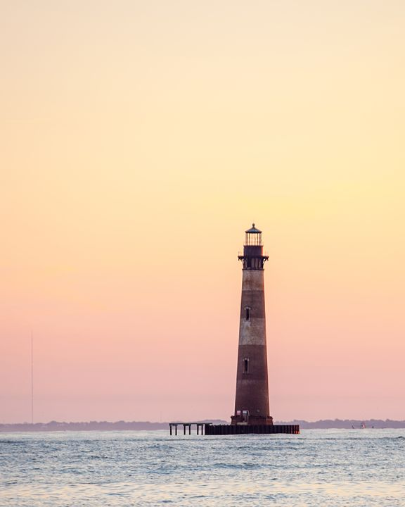 Morris Island Lighthouse 2 - David Hager Photography
