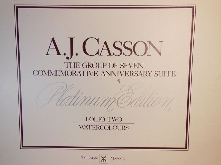 A. J. Casson - Platinum Edition - A. J. Casson - Limited Edition