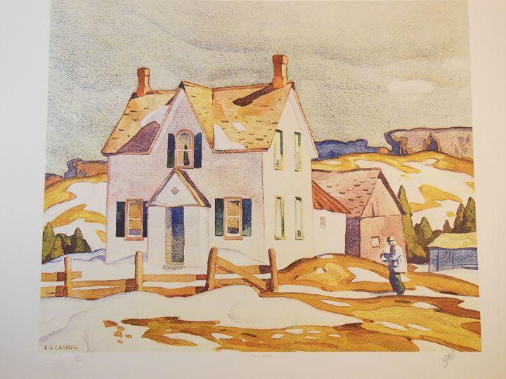A. J. Casson - Jerome House - Pl. Ed - A. J. Casson - Limited Edition