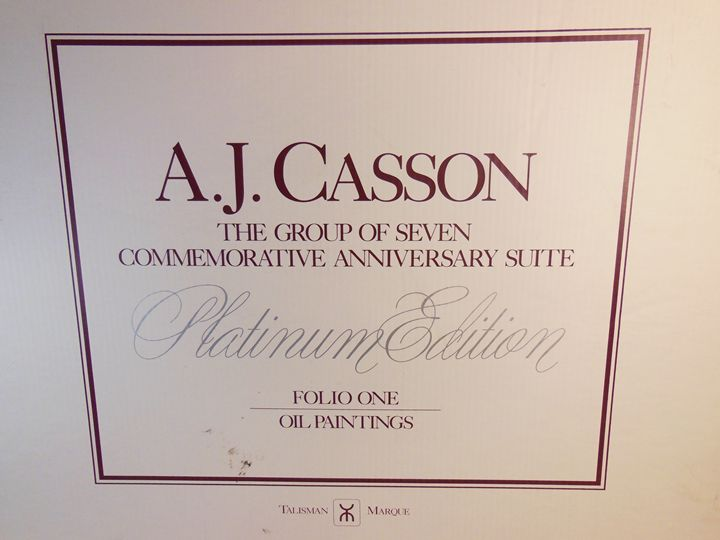 A. J. Casson - Platinum edition, OIL - A. J. Casson - Limited Edition