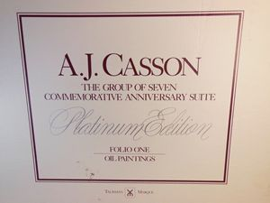 A. J. Casson - Platinum edition, OIL