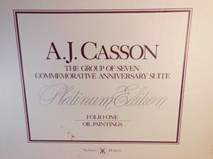 A. J. Casson - Platinum edition, OIL
