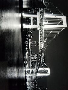 Rainbow Bridge blk/wht
