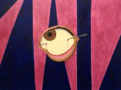 An Eye With A Needle - Bernadette Doyle Art