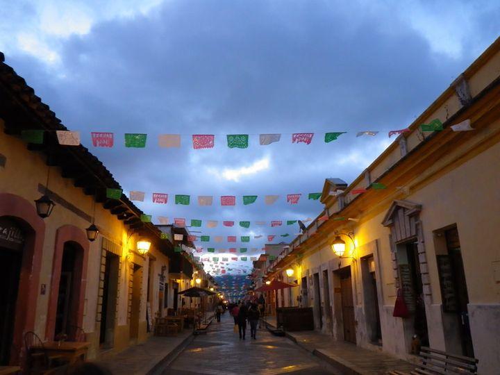 Street in Chiapas - Bernadette Doyle Art