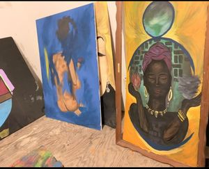 (Right)Mother Earth and broken women