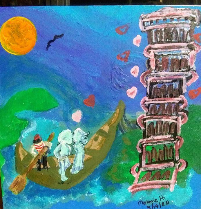 Love in Paris' - Myarz Gallery