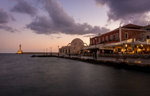 Chania Port Sunrise