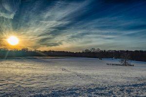 Princeton Battlefield at Sunrise 2