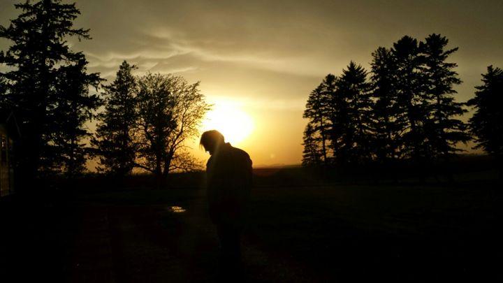 The Man in the Sunset - Nejandrea